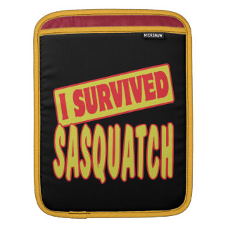 I SURVIVED SASQUATCH SLEEVE FOR iPads