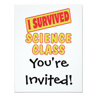 I SURVIVED SCIENCE CLASS CARD