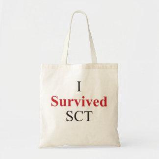 I survived SCT Tote Bag