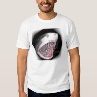 I survived shark diving tee shirt