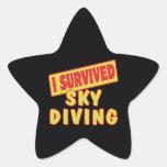 I SURVIVED SKYDIVING STICKER