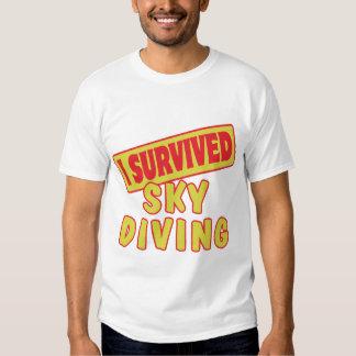 I SURVIVED SKYDIVING T-SHIRT