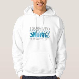 I survived SNOMG 2011 Hoodie