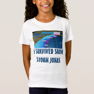 I SURVIVED SNOW STORM JONAS T-Shirt