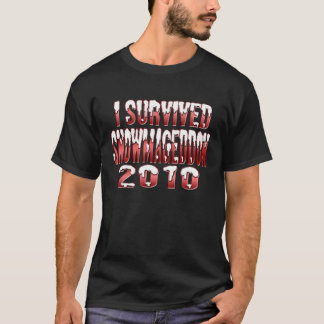 I Survived Snowmageddon 2010 T-Shirt