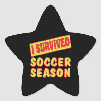 I SURVIVED SOCCER SEASON STICKERS