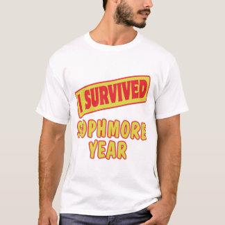 I SURVIVED SOPHMORE YEAR T-Shirt