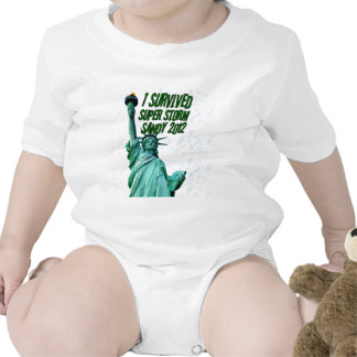 I survived storm Sandy,2012_ Baby Bodysuits