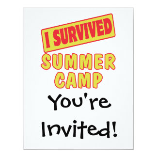 I SURVIVED SUMMER CAMP CARD