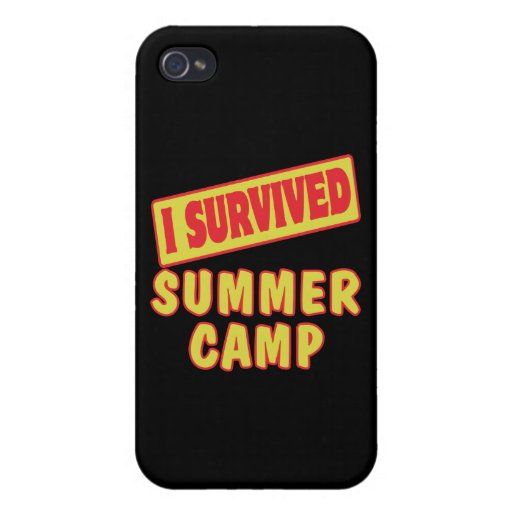 I SURVIVED SUMMER CAMP COVER FOR iPhone 4