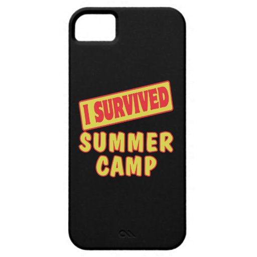 I SURVIVED SUMMER CAMP iPhone 5 COVERS