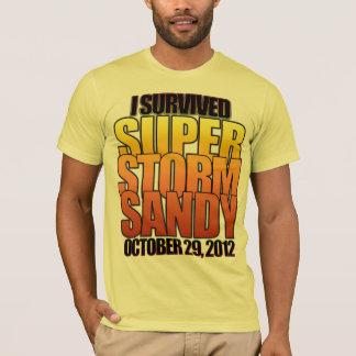 I survived Super Storm Hurricane Sandy T-Shirt