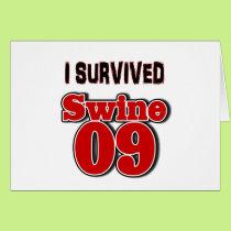 I Survived Swine 09 Card