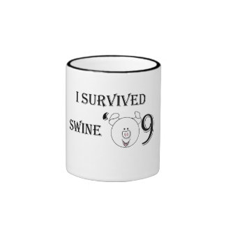 I Survived Swine '09 Mugs