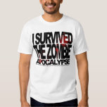 I SURVIVED... T SHIRT