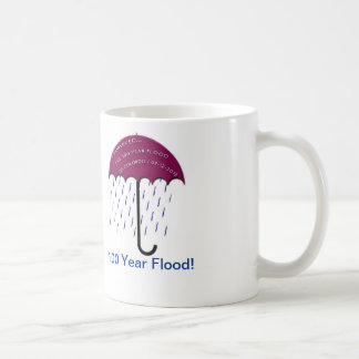 I Survived The 100 Year Flood Of Colorado 09-12-20 Classic White Coffee Mug