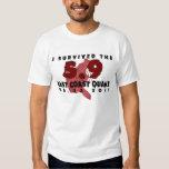 I survived the 2011 East Coast Earthquake T-shirt