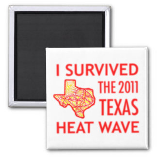 I Survived the 2011 Texas Heat Wave Magnet