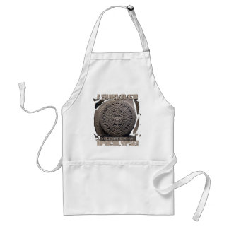 I SURVIVED The 2012 Apocalypse Apron