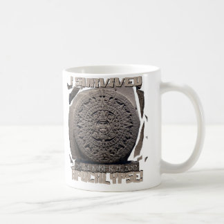 I SURVIVED The 2012 Apocalypse Classic White Coffee Mug