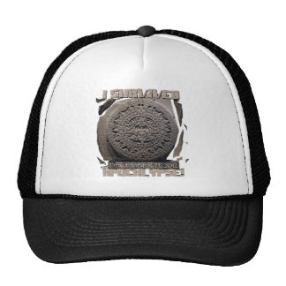 I SURVIVED The 2012 Apocalypse Mesh Hats