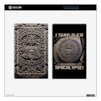 I SURVIVED The 2012 Apocalypse Skin For Kindle Fire