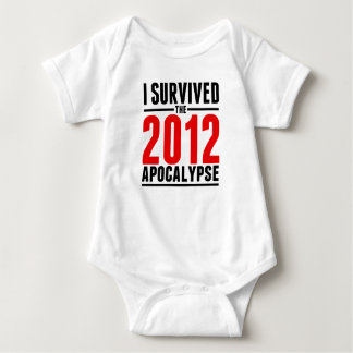 I Survived the 2012 Apocalypse! Shirts