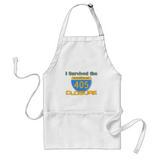 I Survived the 405 Closure Adult Apron