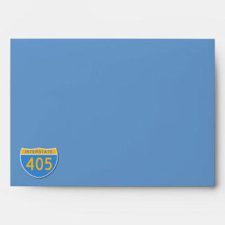 I Survived the 405 Closure Envelopes