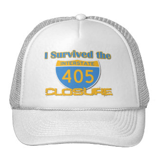 I Survived the 405 Closure Trucker Hat