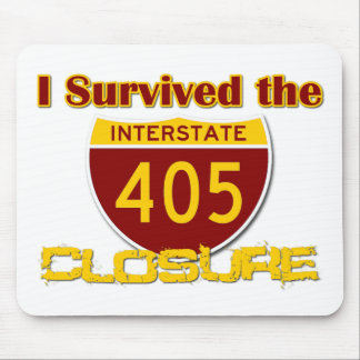 I Survived the 405 Closure Mouse Pad