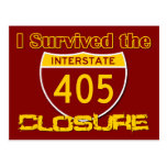 I Survived the 405 Closure Post Card