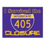 I Survived the 405 Closure Postcard