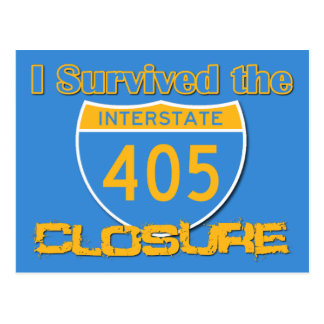 I Survived the 405 Closure Postcards