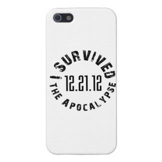I Survived The Apocalypse- 12.21.12 iPhone SE/5/5s Case