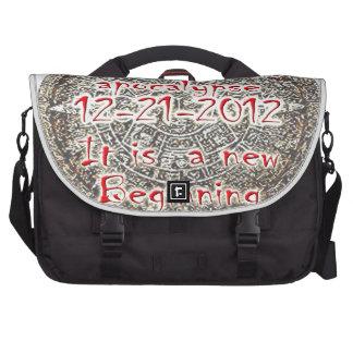I survived the apocalypse 12-21-2012 laptop commuter bag