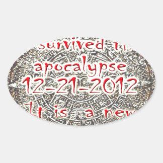I survived the Apocalypse 12-21-2012 Sticker