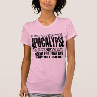 I Survived the Apocalypse 2012 Tee Shirt
