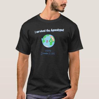 I survived the Apocalypse! Men's Dark T T-Shirt