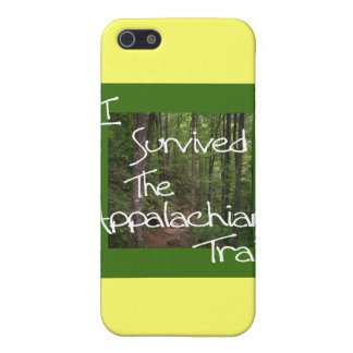 I Survived The Appalachian Trail white Cover For iPhone SE/5/5s