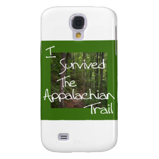 I Survived The Appalachian Trail white Galaxy S4 Cover