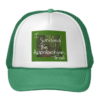 I Survived The Appalachian Trail white Trucker Hat