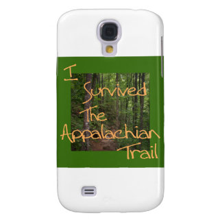 I Survived The Appalachian Trail yellow Samsung Galaxy S4 Cover
