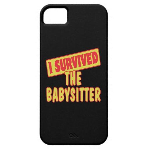 I SURVIVED THE BABYSITTER iPhone 5 CASE