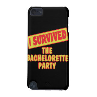 I SURVIVED THE BACHELORETTE PARTY iPod TOUCH (5TH GENERATION) CASE