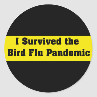 I Survived The Bird Flu Pandemic Stickers