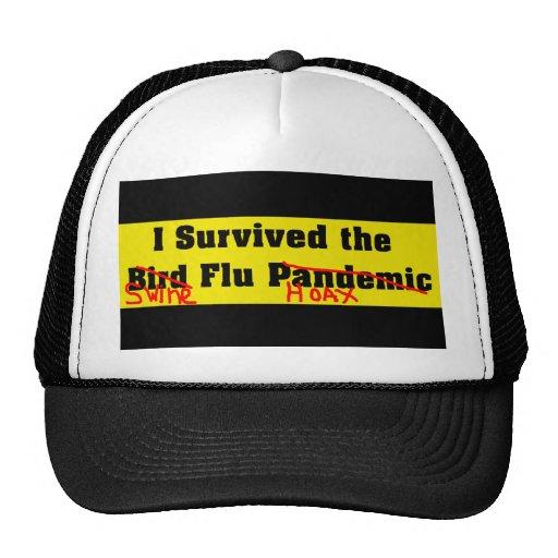 I Survived The Bird Flu Pandemic Trucker Hat