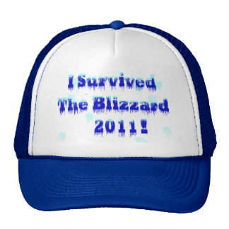I Survived The Blizzard 2011 Trucker Hat