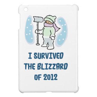 I survived the blizzard of 2012 iPad mini cover