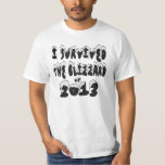 I Survived The Blizzard of 2013 T-shirt